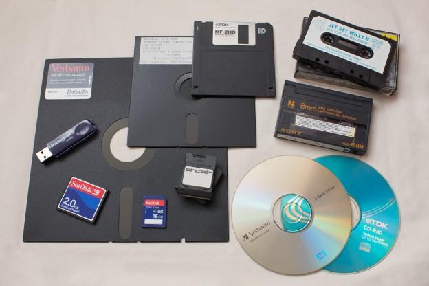 Eleven removable storage technologies