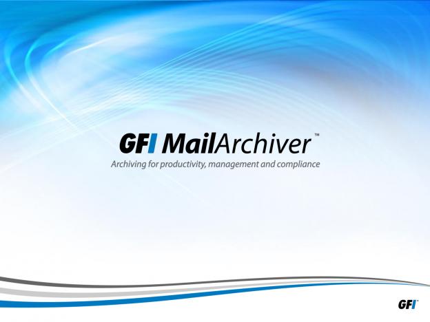 GFI MailArchiver