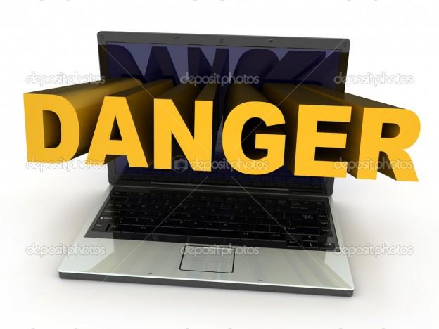 Laptop danger