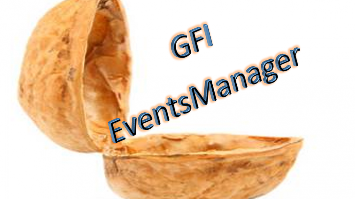 GFI EventsManager in a Nutshell