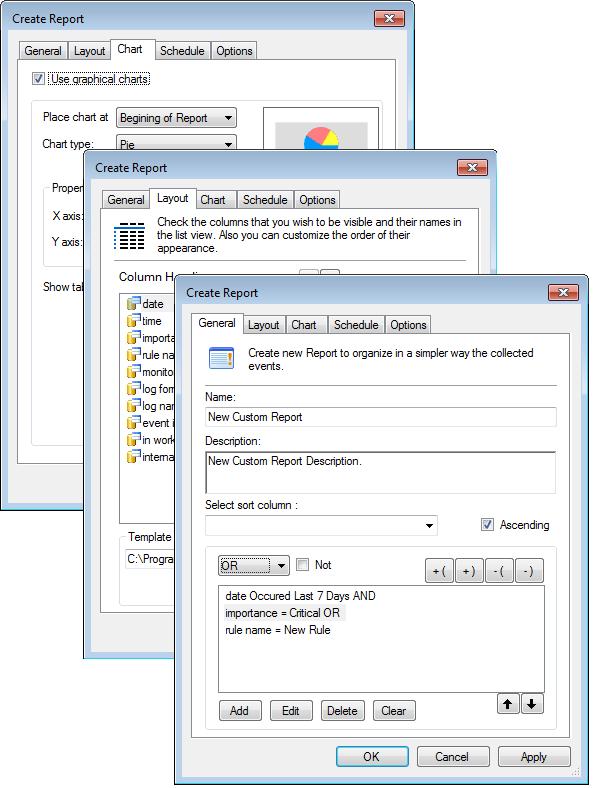 Reporting - custom features